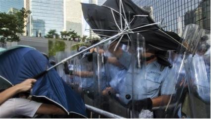revolução dos guarda-chuvas