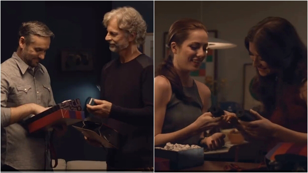 Frames do comercial d'O Boticário.