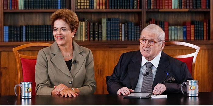 Dilma em entrevista a Jô Soares