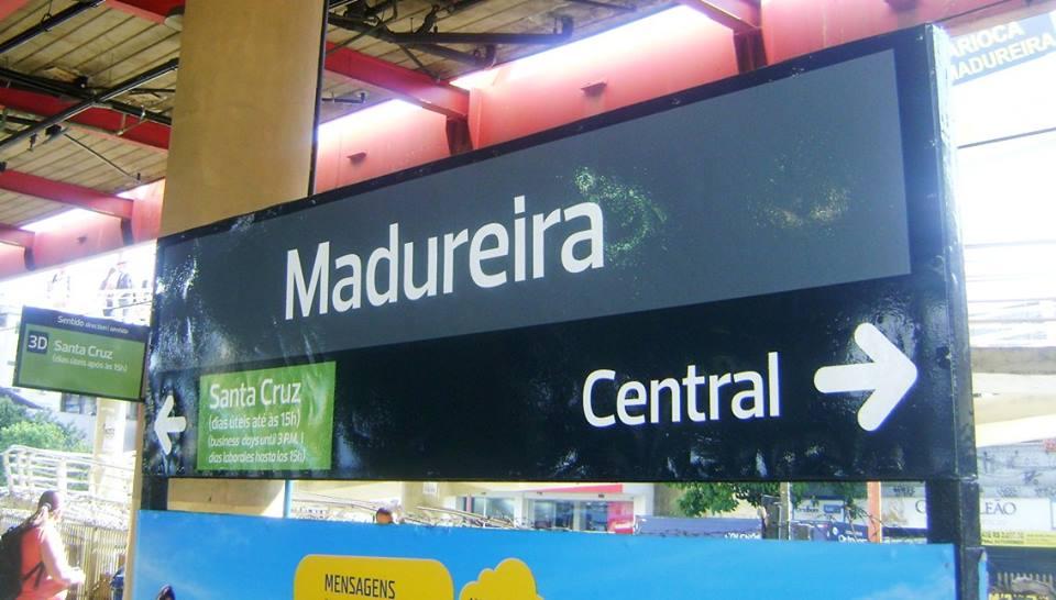 Estação ferroviária de Madureira, no Rio de Janeiro, foi 'palco' da trágica morte do vendedor de balas Adílio Cabral dos Santos