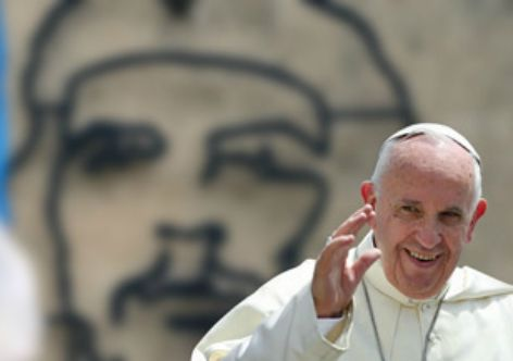 Papa Francisco em Cuba. Fonte: Vermelho.org