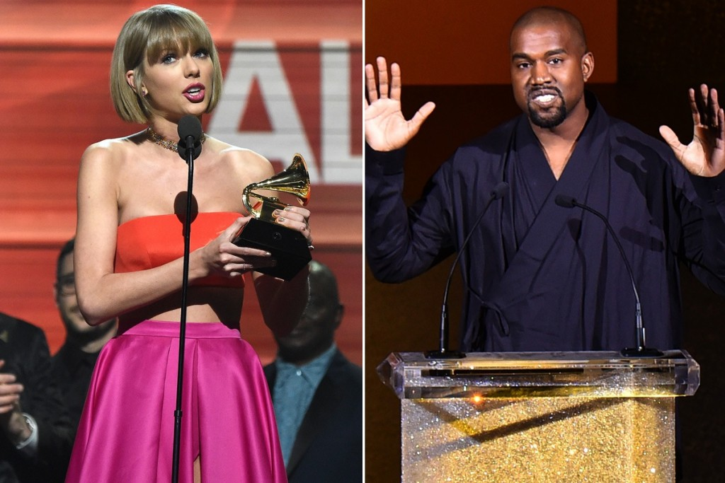 Taylor Swift e Kanye West