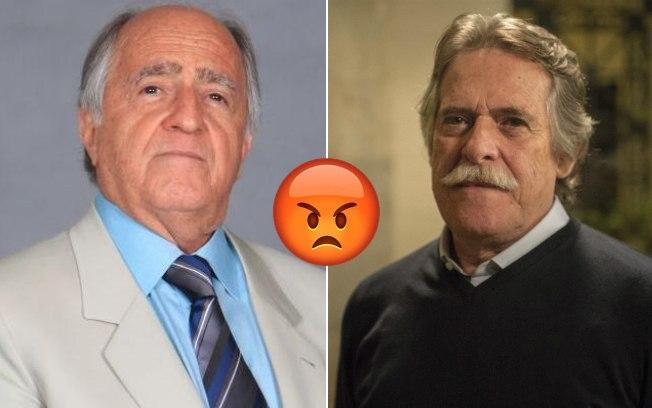 Ary Fontoura e José de Abreu: posições opostas. Fonte: IG.com