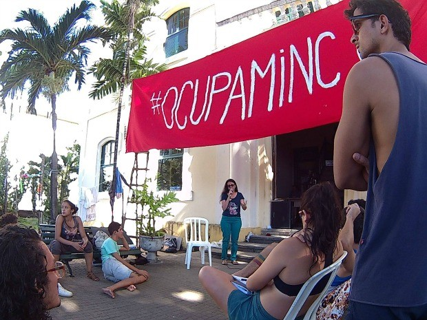 #OcupaMinc no Ceará. fonte: G1
